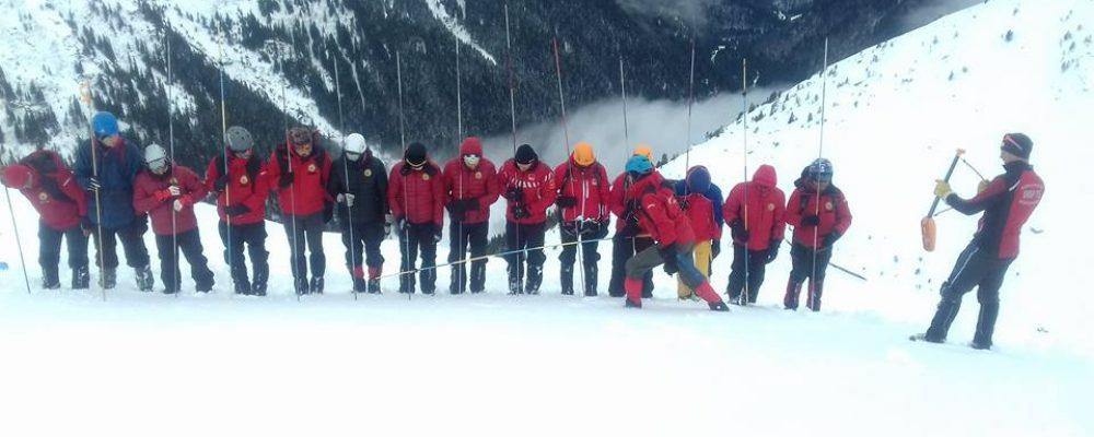 Curs de salvare montană pe Transfagarasan