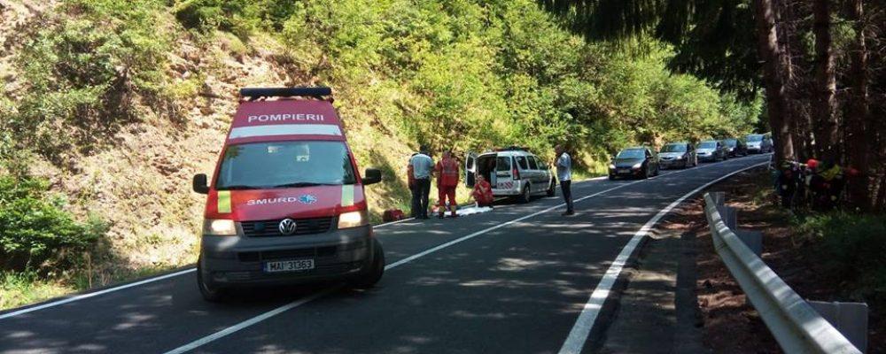 Turista din Lituania accidentata pe Transfagarasan