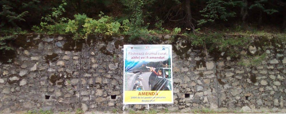 Actiune de prevenire impotriva aruncarii gunoiului pe Transfagarasan