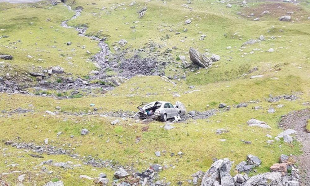 Accident nocturn grav pe Transfagarsan