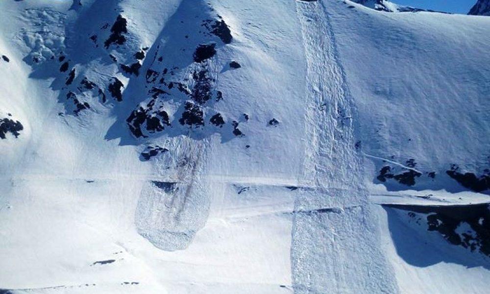 Zapada de peste 2 metri la Balea Lac la sfarsitul lunii martie